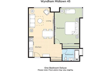 Midtown 4 Floor Plans | club wyndham wyndham midtown 45 at nyc