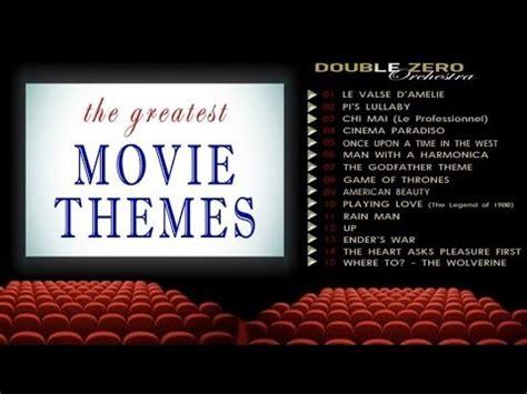 film themes quiz youtube double zero orchestra the greatest movie themes youtube