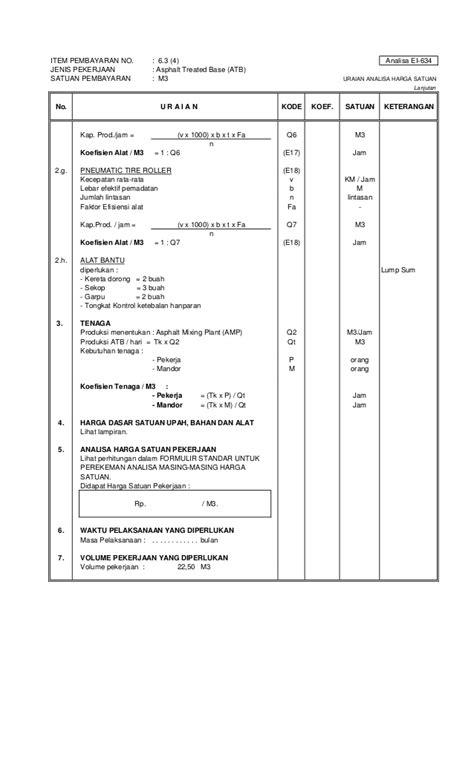 Analisa Satuan Lu Taman 40047687 boq analisa sni e tmp analisa e