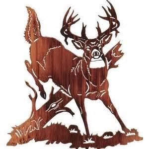 jumping buck deer metal wall art polyvore