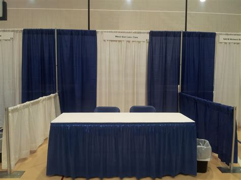 pipe and drape booth pipe drape indestructo tent rental inc
