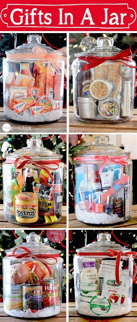 gift ideas for work christmas party gifts in a jar simple inexpensive and gift jar and gifts