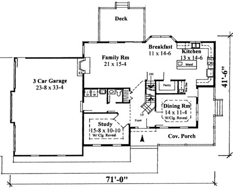 Two Story Home Plan With Lavish Touches 3713tm 2nd Two Story House Plans Bonus Room