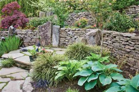 diy rock garden diy rock wall saves money