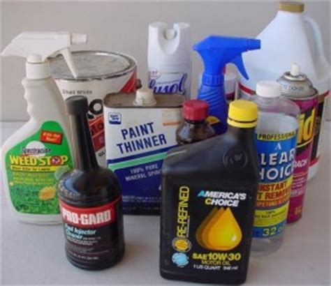 dangerous household chemicals youth seekers