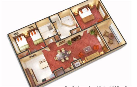 3 bedroom hotel suites in orlando fl 3 bedroom suites near disney world floridays resort