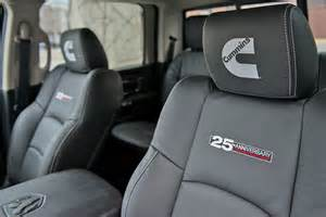 Dodge Ram 2500 Seat Covers 25th Dodge Cummins Anniversary Package Dodge Diesel