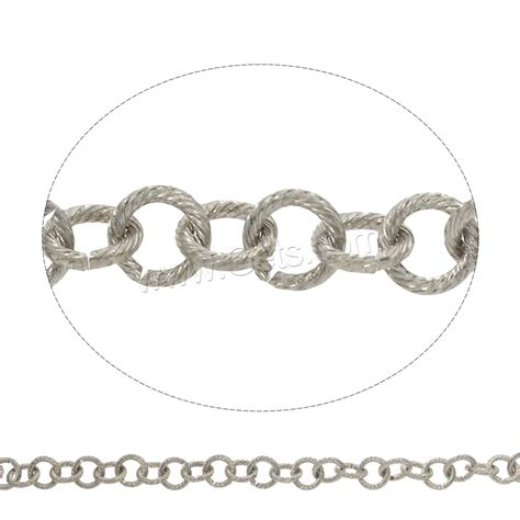iron jewelry chain plated link chain gets