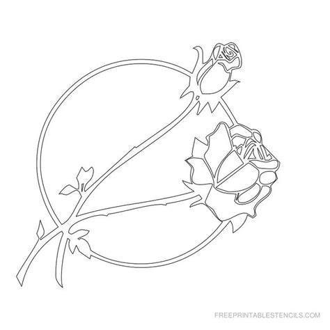 printable stencil designs flowers free stencils free printable flower picture stencils