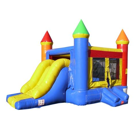 bounce house places birthday cake bounce house slide combo rental iowa city ia