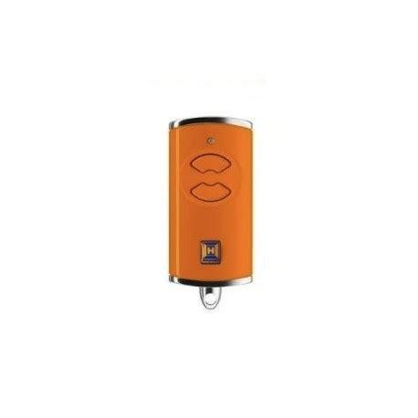 Bs Orange telecommande portail h 214 rmann hse2 bs 868 mhz orange livraison rapide chronotelecommande