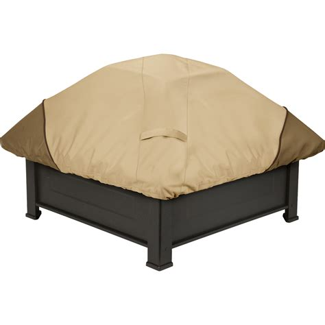 Classic Accessories Outdoor Fire Pit Patio Cover Fits Outdoor Pit Accessories