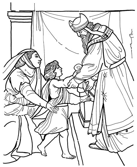 free coloring pages of 1 samuel