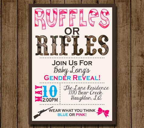 15 Gender Reveal Invitations Printable Psd Ai Eps Design Trends Premium Psd Vector Gender Reveal Invitation Template