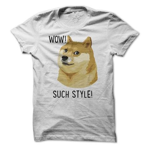 Doge Meme T Shirt - wow t shirts sweatshirts hoodies meaning sweaters