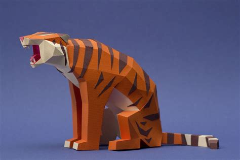 Animal Papercraft - we are a of artists who create lowpoly animals from