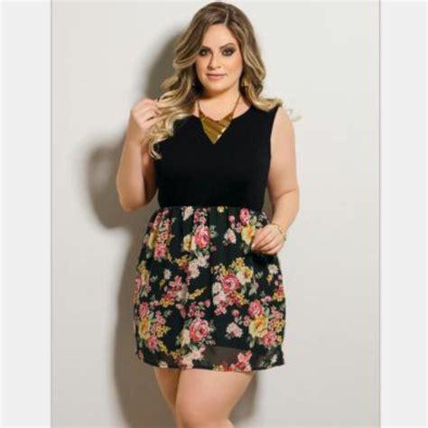 Big Size big size summer dress 2017 sleeveless floral print