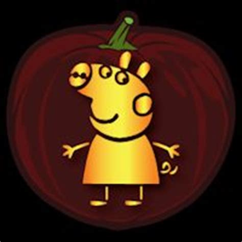 pig pumpkin template peppa pig pumpkin pigs pumpkins