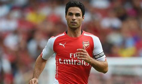arsenal captain arsenal captain mikel arteta rallies the troops for