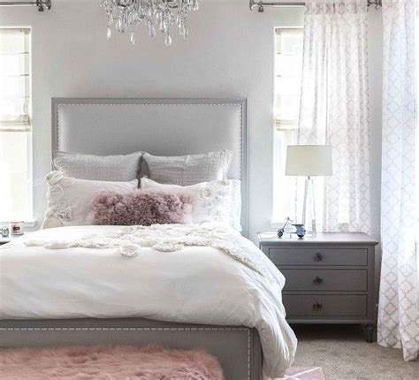 pink gray room decor bedroom design hjscondiments