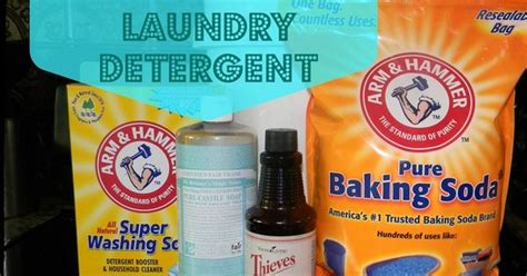 Naphtha Detox by Make Your Own Liquid Thieves Laundry Detergent No Soap