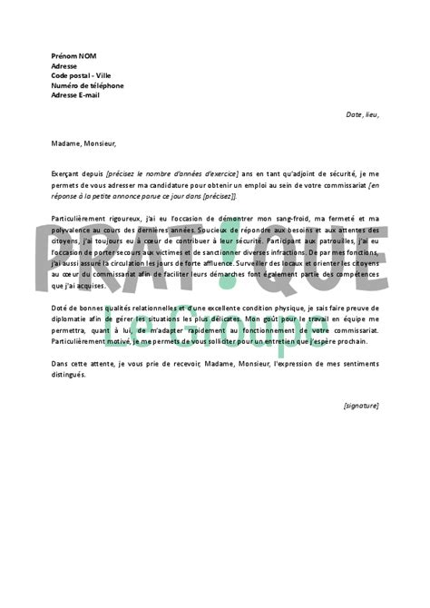 Exemple De Lettre De Motivation Nationale Lettre De Motivation Ads