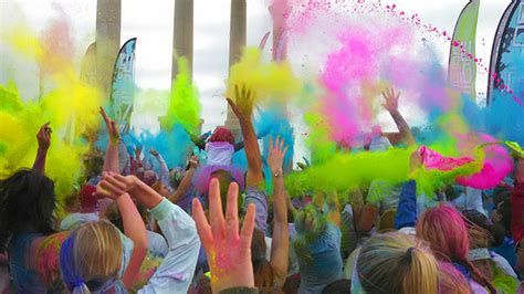 photos color run 5k northescambia