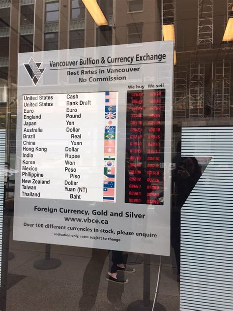 Currency Converter Vancouver | vancouver bullion currency exchange 18 photos 48
