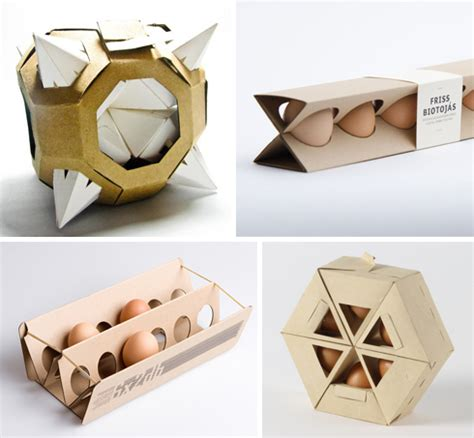4 Extremely Polyhedral Egg Cartons Beach Egg Packaging Template