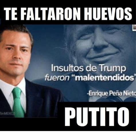 Memes De Donald Trump Y Pena Nieto