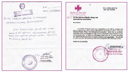 appreciation letter to government official timely aid to abobo