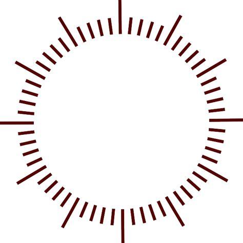 desain jam dinding vektor free vector graphic dial clock minutes marks design