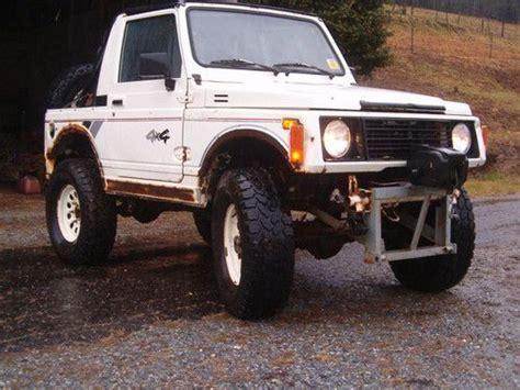 Suzuki Samurai For Sale In Nc Sell Used 1987 Suzuki Samurai In Gap Carolina