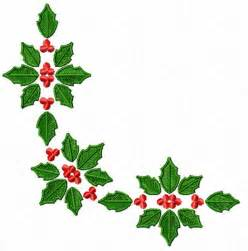 christmas motifs poinsettia machine embroidery designs