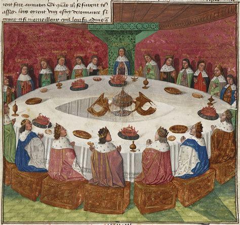 image de la table ronde graal wikip 233 dia