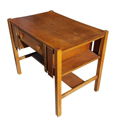 mission desk for vintage mission style oak desk and chair mr14859 50 ebay