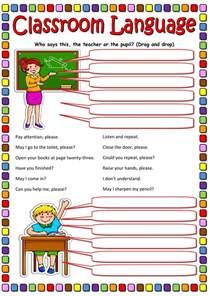 Part Of A Flower Worksheet - classroom language interactive worksheet
