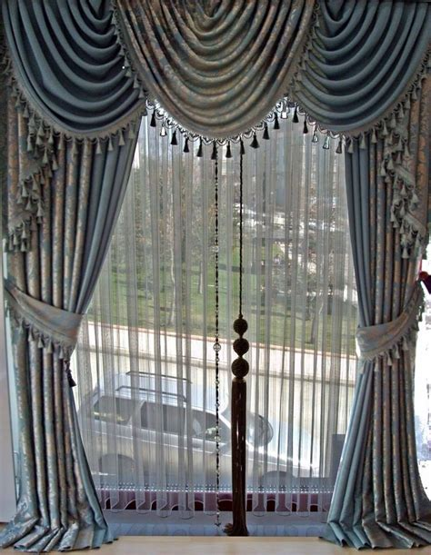 Window Valance Ideas valonlu perde modeli perde modelleri pinterest house