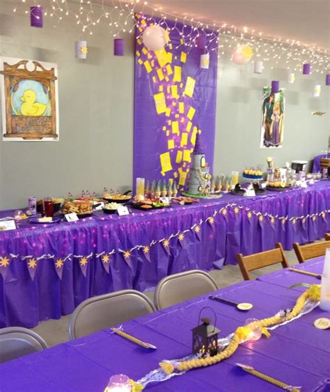 Tangled Decorations by Tangled Birthday Ideas Decorations Image