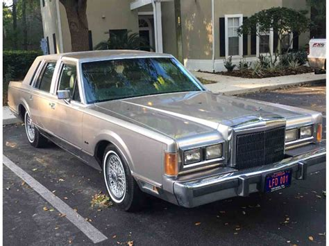 wedding car lincoln 1989 lincoln town car for sale classiccars cc 973685