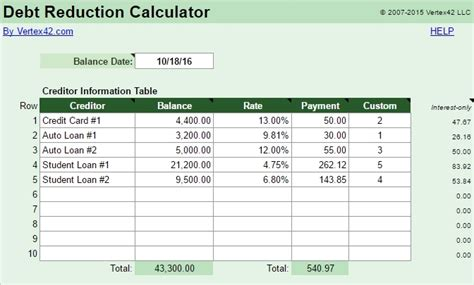 A Simple Tool For Creating A Killer Debt Repayment Plan Mom And Dad Money Debt Schedule Template