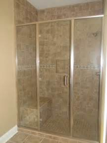 Tiled Showers With Bench Bathroom Cool Tiled Showers With Shower Bench And Shower