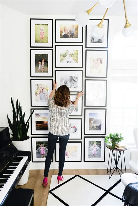 como decorar con fotos familiares ideas para decorar tu casa con fotos familiares