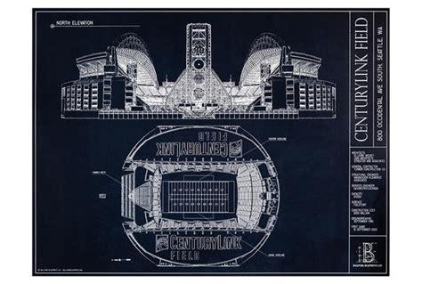 blueprint seattle centurylink field seattle seahawks ballpark blueprint ballpark blueprints