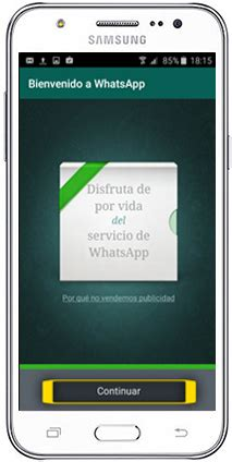 tutorial whatsapp samsung tutorial descarga e instalaci 243 n de whatsapp samsung