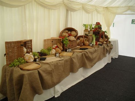 images of displays of reception food   Display table   The
