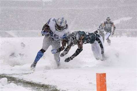 Snowy Gamis eagles lions snow bowl gets during whiteout