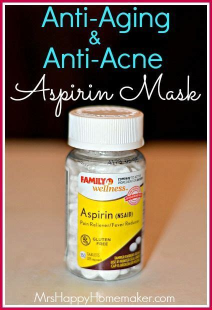 diy aspirin mask anti aging anti acne aspirin mask recipe happy diy