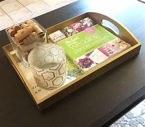 rand mcnally diy decorative tray