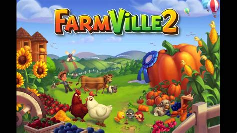 HD FarmVille 2 - FarmVille 2 Theme - YouTube Zynga Games Farmville 2 Facebook